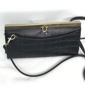 Buxton Heiress Crossbody Wallet Removeable Strap